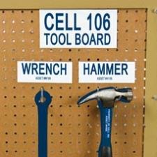 Labeling voor de visuele werkplaats