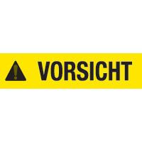 BBP85 Die cuts - Vinyl  254x356 VORSICHT-B85-254x356-595-VORSICHT