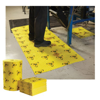High Visibility Absorbent Safety Mat