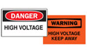 Electrical Hazard & Confined Space Signs