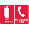 Fire Equipment Signs & Tags