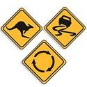 Regulatory Traffic Signs