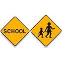 Regulatory School Signs