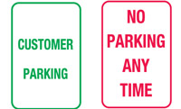 Parking & No Parking Signs