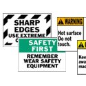 Machine Equipment Labels