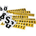 Numbers & Letters Labels