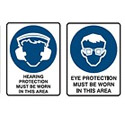 Personal Protective Wear Signs