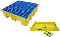 Spill Containment Pallets & Berms