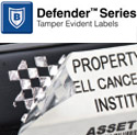 Defender™ Tamper Evident Labels