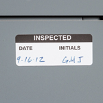 Inspection and Inventory Labels