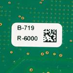 Étiquettes pour circuits imprimés