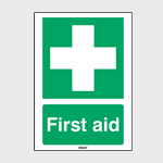 Emergency & First Aid Signs without Text