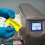 Metalldetektierbare Etiketten