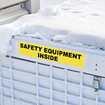 Duurzame labels voor buitengebruik