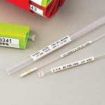 Etiketten für Halme und Stäbe