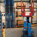 Visual Tagging for Mobile Elevated Work Platforms (MEWP)
