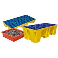 Bodenelemente und Auffangpaletten
