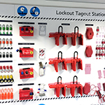 Lockout Tagout Shadow Boards and Accessories