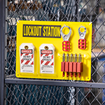 Lockout Tagout Stations