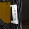Étiquettes non adhésives pour fils et câbles