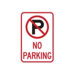 Señalamietnos de restricción de estacionamiento