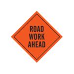 Señalamientos de construcción de caminos