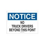Señalamientos de restricción de tráfico