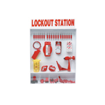 Open Front Wall Mounted Lockout Tagout Stations
