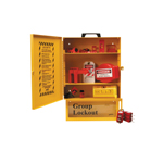 Cabinet Style Wall Mounted Lockout Tagout Stations