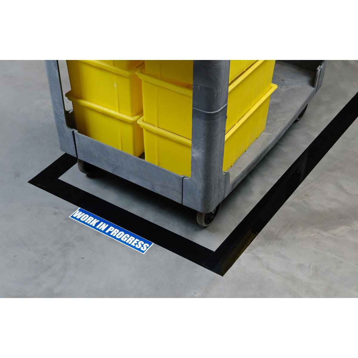 Brady Part: 121368 | ToughStripe CAUTION ESD AREA Floor Tape | BradyID.com