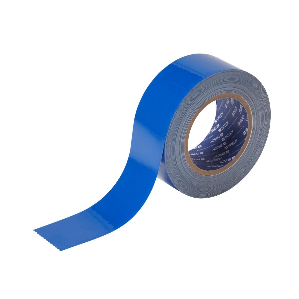 BRADY 104314 2 IN X 100 FT B514 BLUE FLOOR TAPE