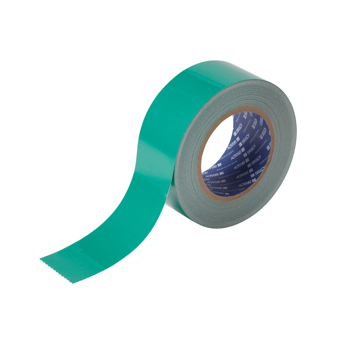 BRADY 104315 2 In X 100 Ft B514Green Floor Tape