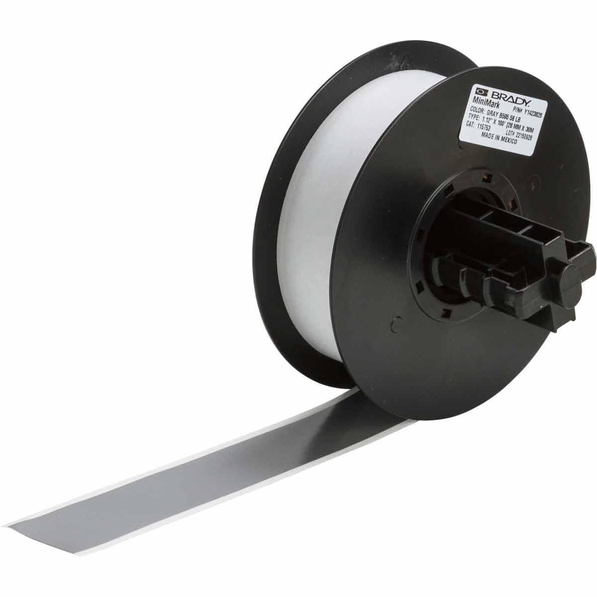 brady part 115753 minimark series indoor outdoor vinyl labels. Black Bedroom Furniture Sets. Home Design Ideas