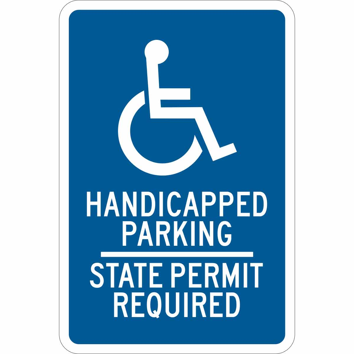 Brady Part: 123874 | Handicapped Parking State Permit ...