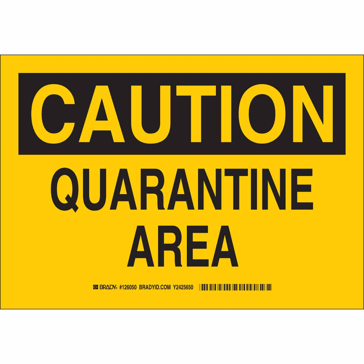 This is a picture of Quarantine Sign Printable with thank you