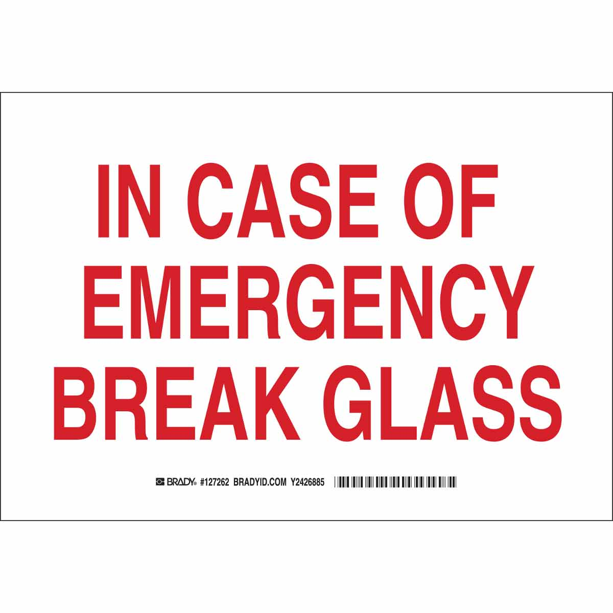 graphic regarding In Case of Emergency Break Glass Printable known as Inside Situation Of Crisis Split Gl Indicator