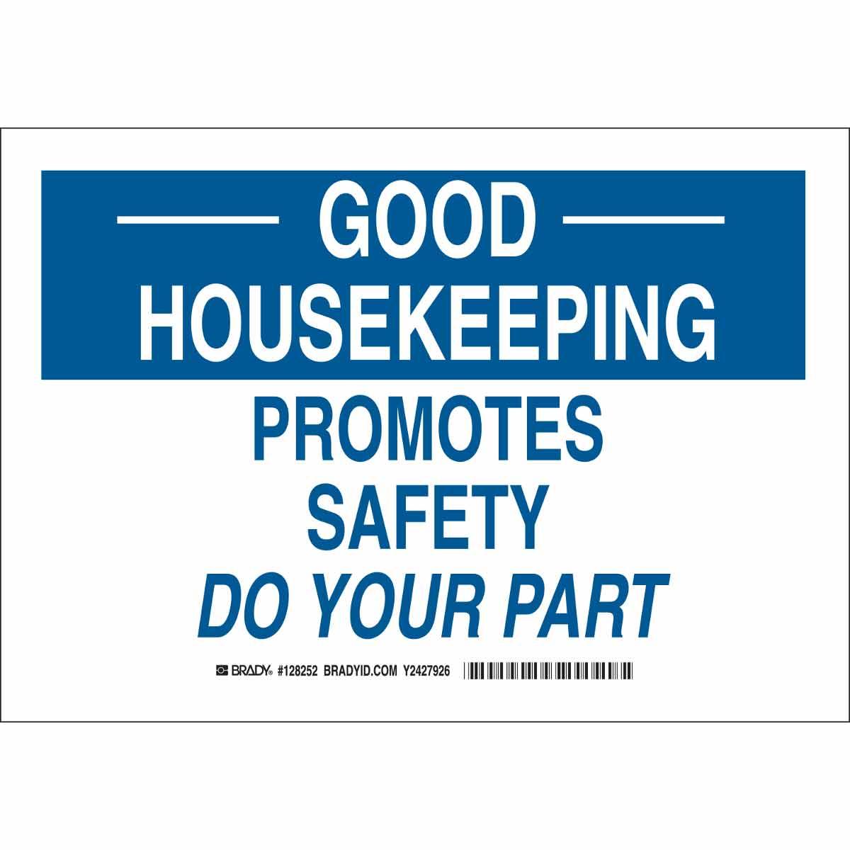 Good Housekeeping: GOOD HOUSEKEEPING Promotes Safety Do