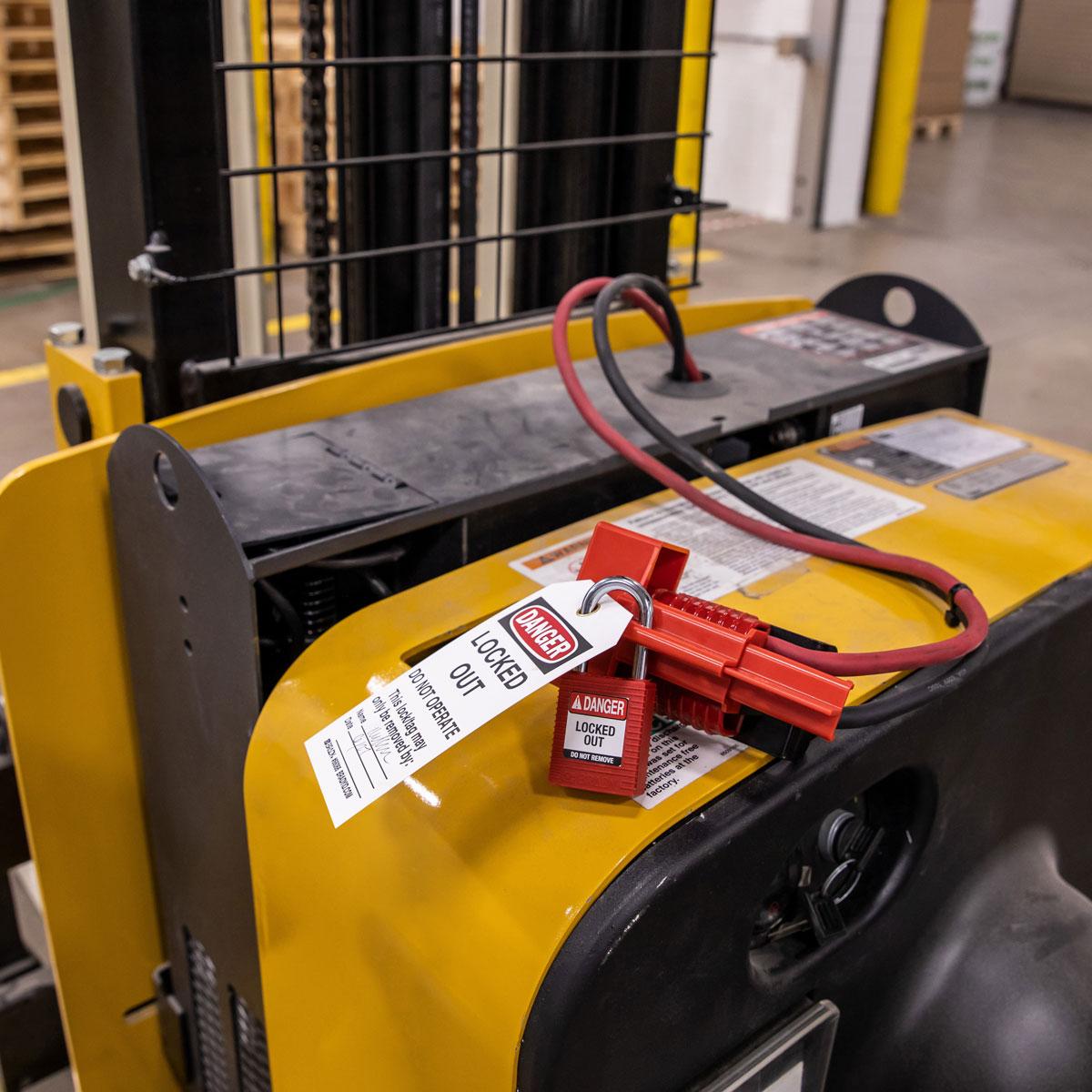 BatteryBlock Lockout - Forklift
