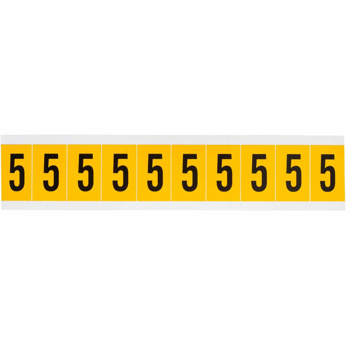BRADY 1530-5 15 Series Number &Letter Card