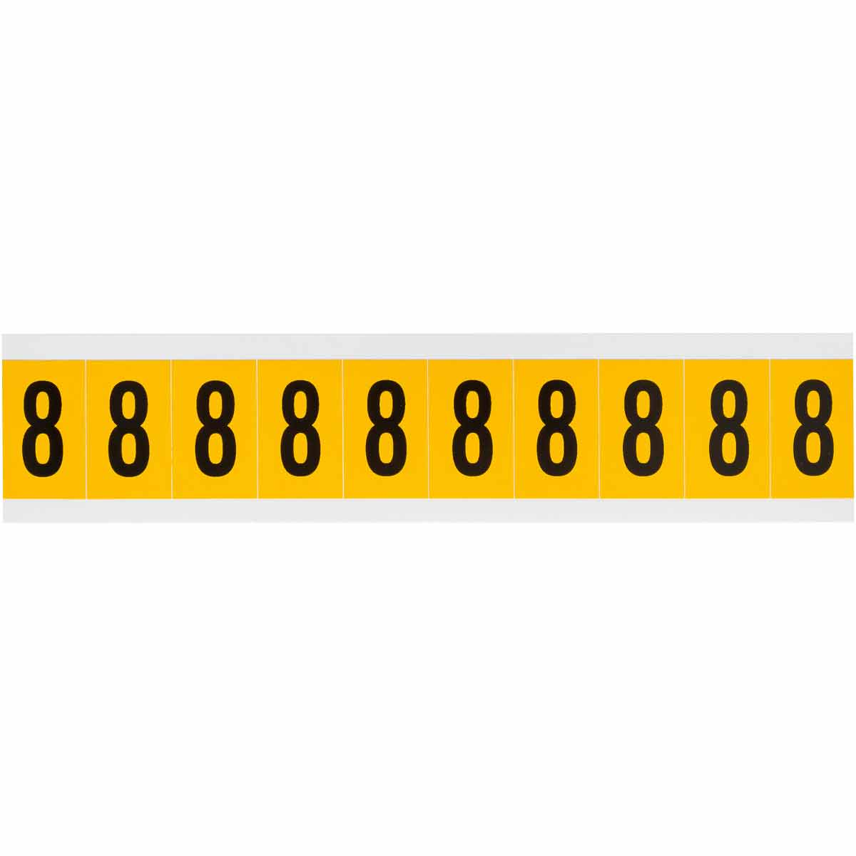 BRADY 1530-8 15 Series Number &Letter Card