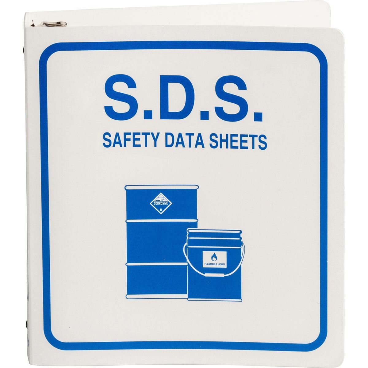 MSDS Binder for Meeting OSHA Guidelines