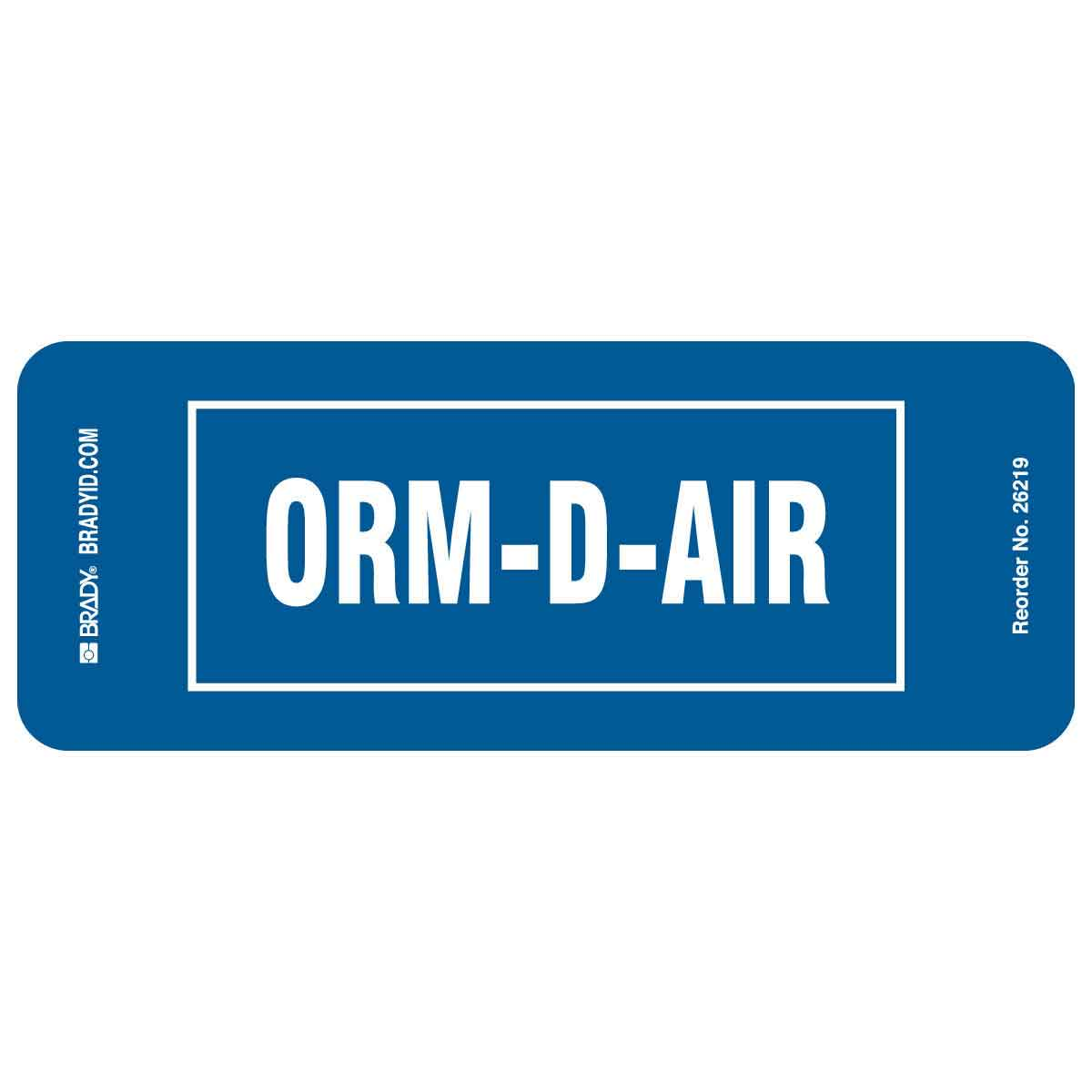 graphic relating to Orm D Label Printable called ORM-D-AIR Labels