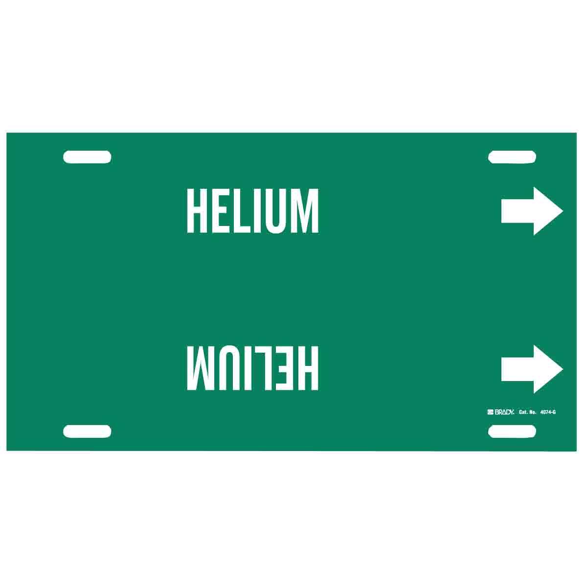 Brady Part 4074 G 40494 Helium Pipe Marker Bradycanada