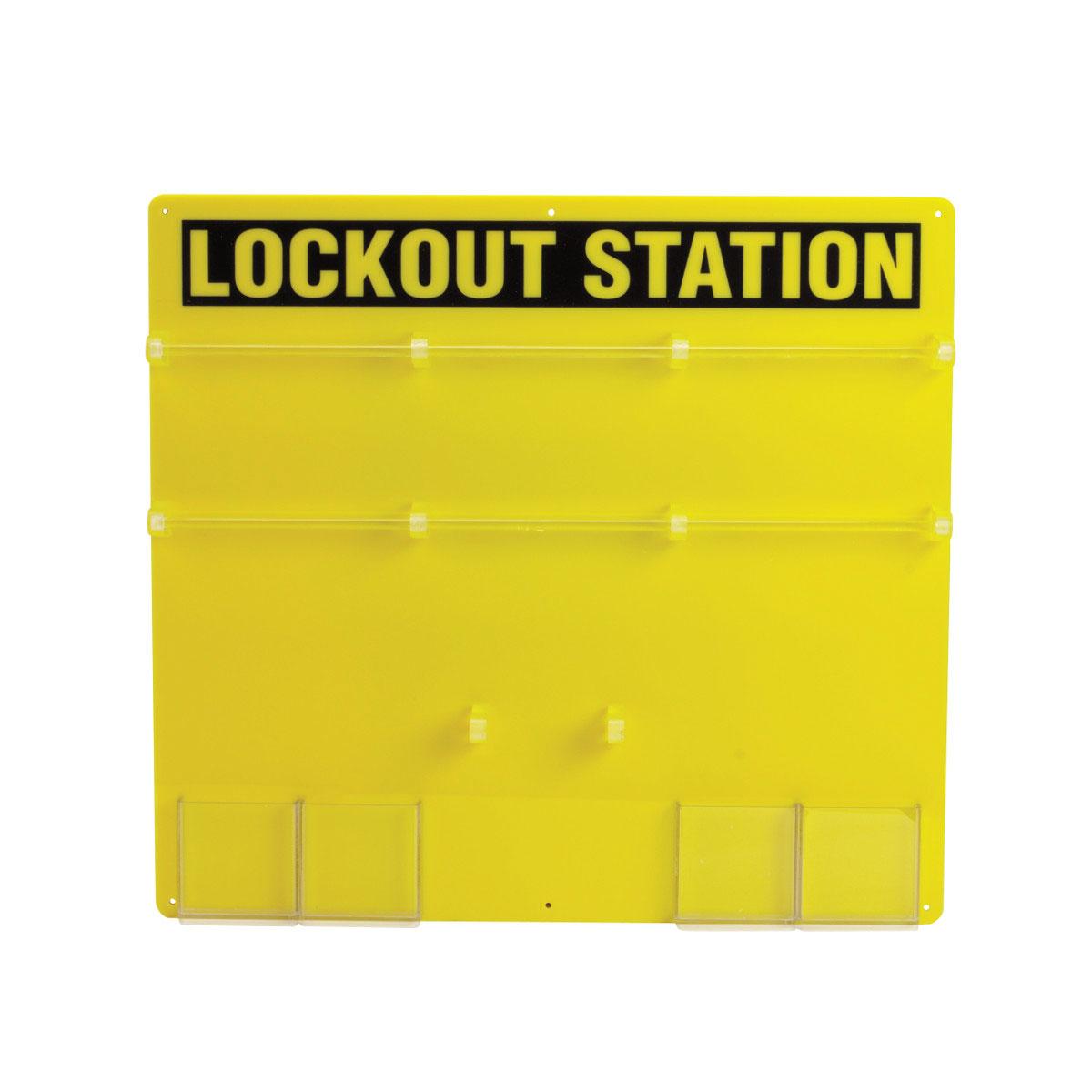 BRADY 50992 36-Lock Padlock Board
