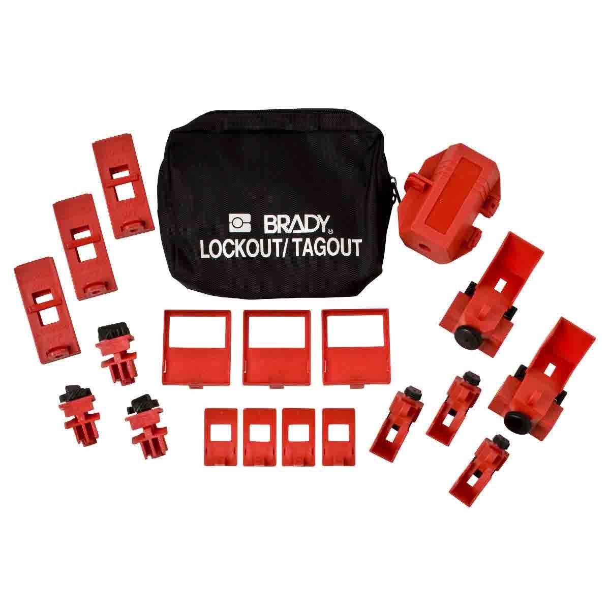 BRADY 65405 Breaker Lockout PouchKit