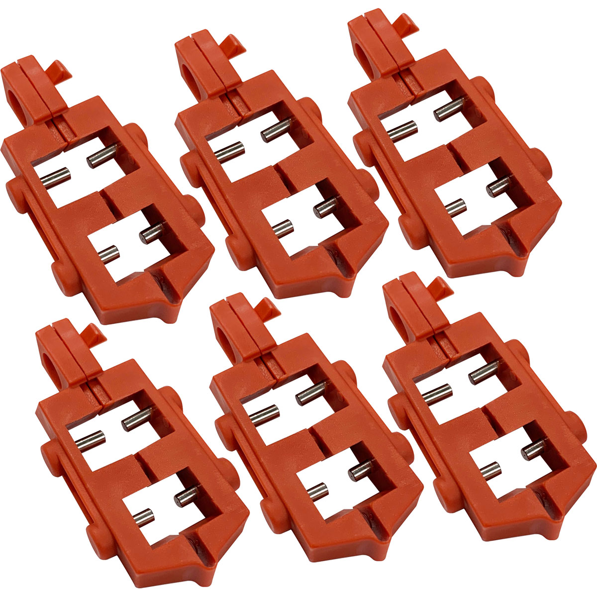 Brady 65688 120 Volt Snap-On Circuit Breaker Lockouts (6/pkg)