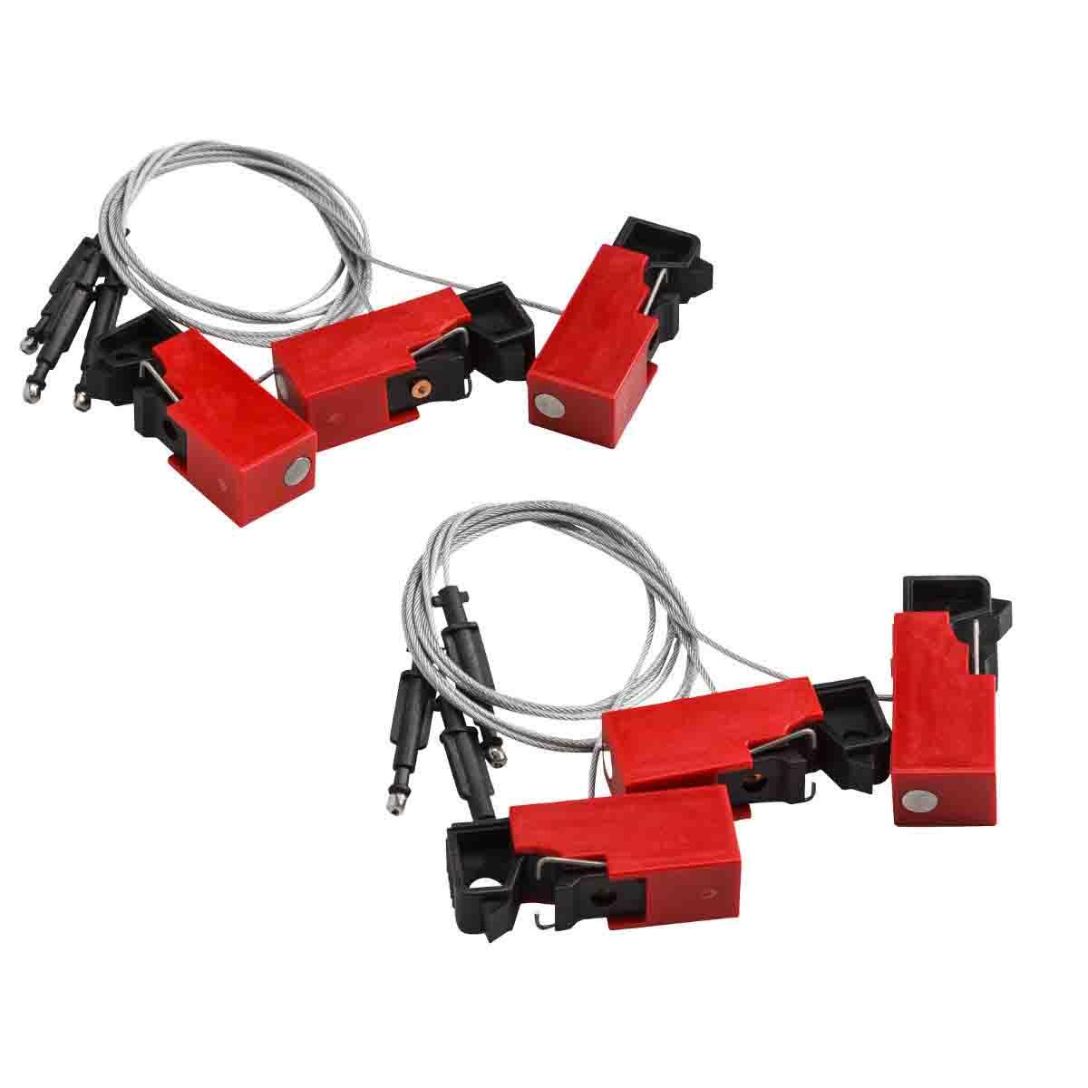 Brady Part 65815 Ez Paneloc Snap On Breaker Lockouts Home Bmp21 Hand Held Label Printer Electrical Kit