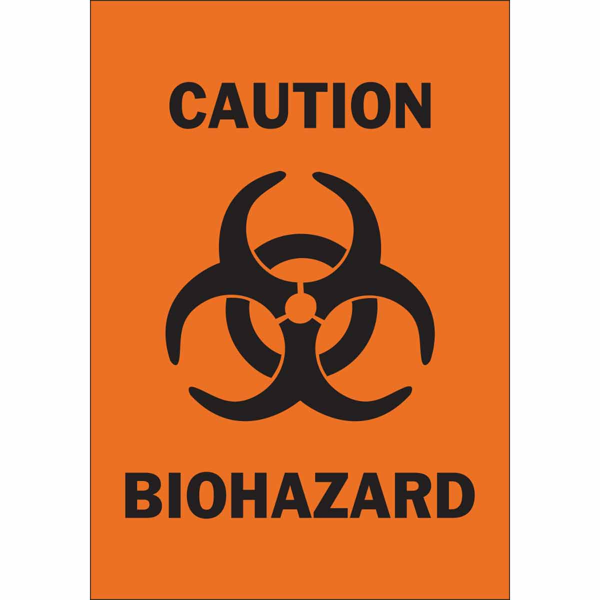 picture about Biohazard Sign Printable identified as Warning Biohazard Signal