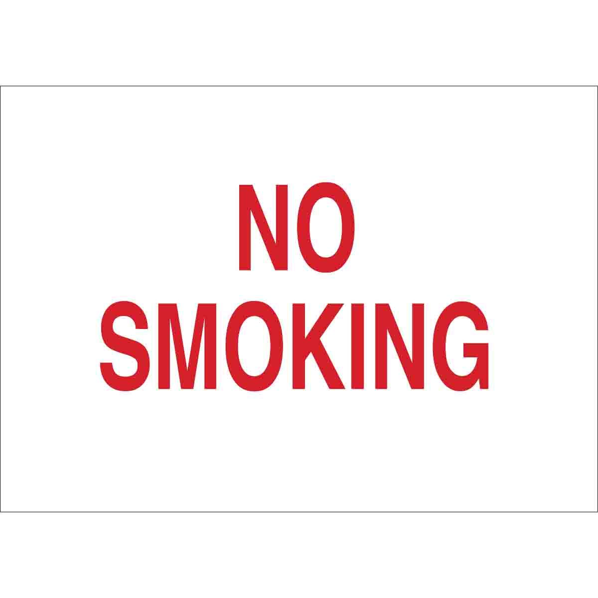 BRADY 25118 No Smoking Sign