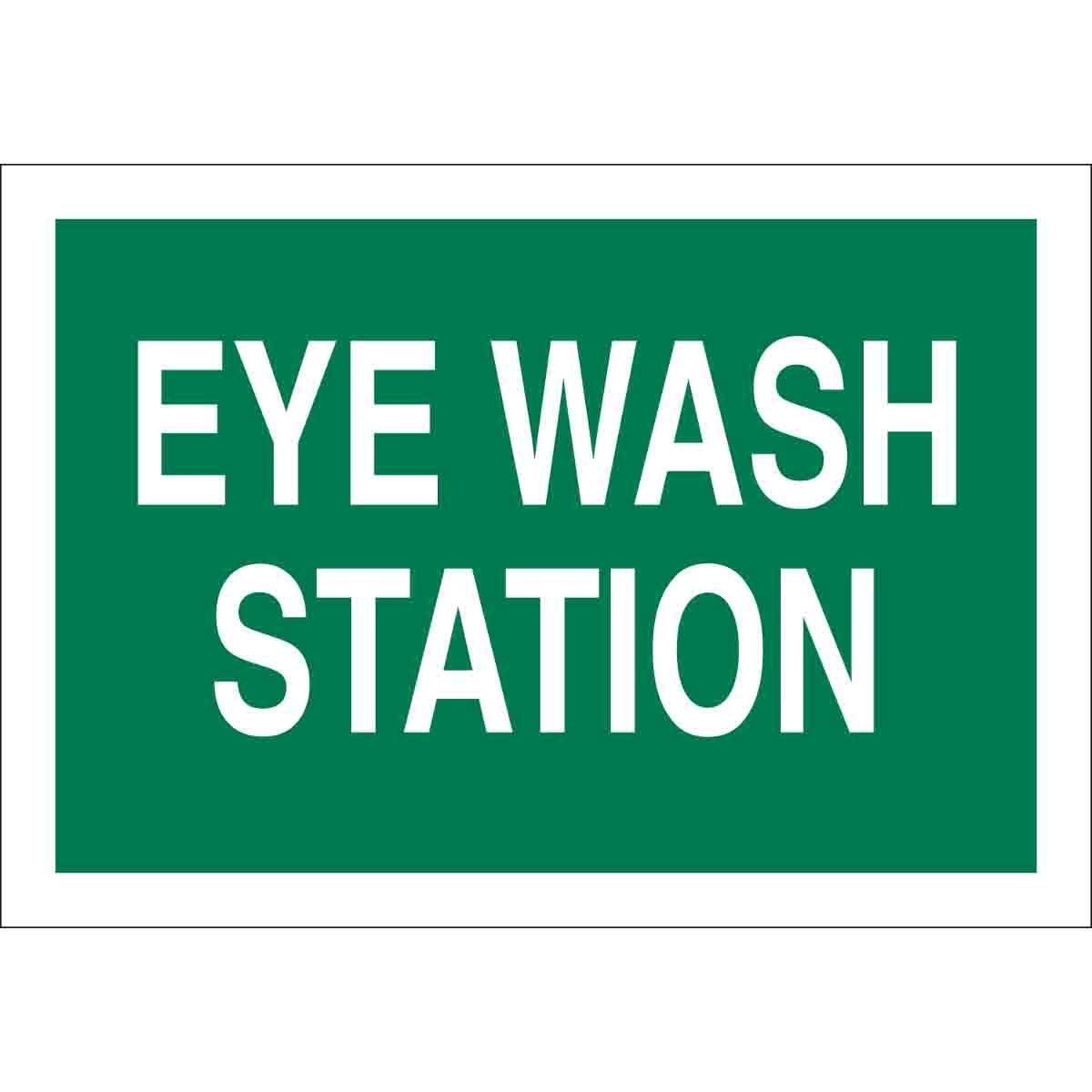 Brady Part 22665 Eye Wash Station Sign Bradycanada Ca